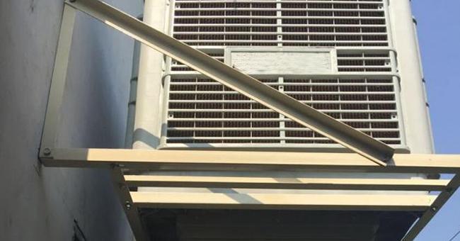空调室外机支架案例